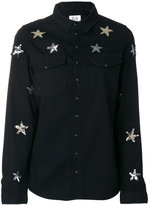 Zoe Karssen sequin star shirt - women - Cotton - XS