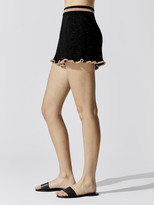 SUBOO Mimi Knit Ruffle Short