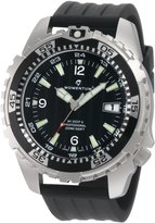 Momentum Men's 1M-DV06B8B M1 Deep 6 Dial Ribbed Rubber Watch