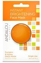 Andalou Naturals Instant Brightening Face Mask, 6-Count
