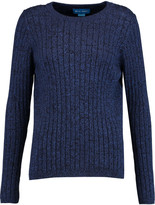 MiH Jeans Moonstone ribbed cotton sweater