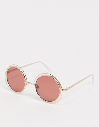 Pilgrim marcella round style sunglasses