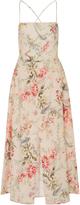 Zimmermann Mercer Floral-Print Cotton-Blend Dress