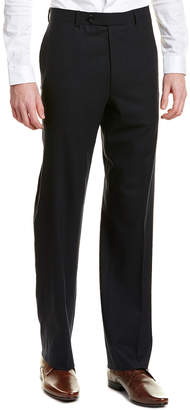 Brooks Brothers Madison Fit Flat Front Wool Blend Trouser