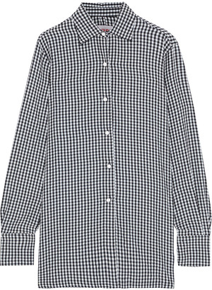 Solid & Striped Gingham Seersucker Shirt