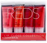 Academy Of Colour Academy of Colour Lip Gloss Collection - Reds