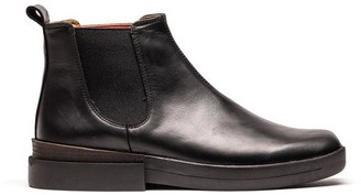 Tracey Neuls - Jon Black Leather Chelsea Boot - 36 - Black/Leather