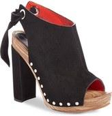 Proenza Schouler Tie Back Peep Toe Sandal (Women)