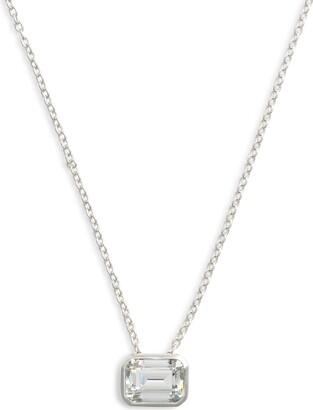 Lafonn Bezel-Set Emerald-Cut Choker Necklace