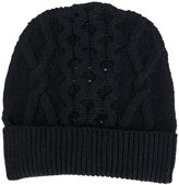 Maison Margiela classic knitted beanie hat - men - Wool - S