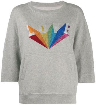 Zadig & Voltaire Kaly Love studded sweatshirt