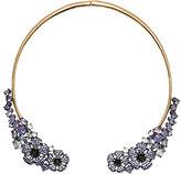 Kate Spade Hydrangea garden open collar necklace