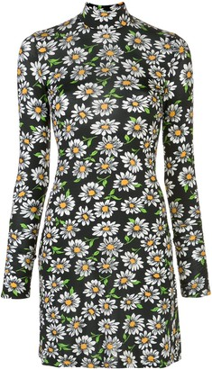 M Missoni Floral Print Mini Dress