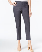 Charter Club Plaid Slim Ankle Pants, Created for Macy's