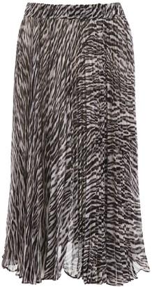 MICHAEL Michael Kors Safari Midi Skirt