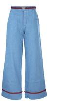 Gucci wide leg jeans