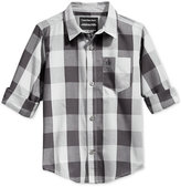 Calvin Klein Boys' Long-Sleeve Button-Up Shirt