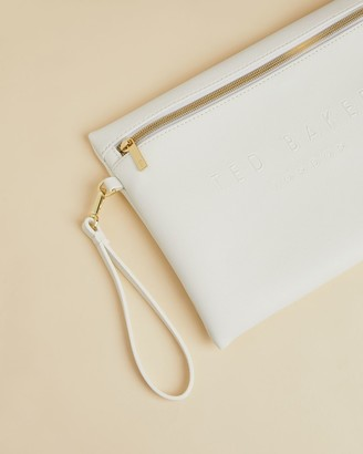 Ted Baker Debossed Pouch