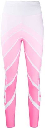 GCDS Ombre Logo Leggings
