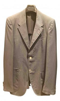 Prada Grey Polyester Suits