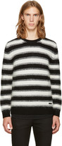 Burberry Black Stockley Punk Sweater