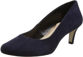 Van Dal Women's Lowe Courts Midnight Suede 8 UK