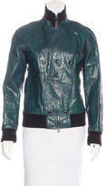 CNC Costume National Leather Moto Jacket