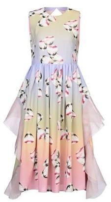 Huishan Zhang 3/4 length dress