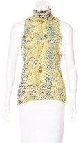 Roberto Cavalli Sleeveless Embellished Top
