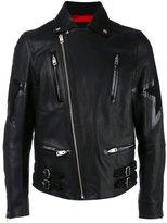 Diesel star biker jacket - men - Lamb Skin/Acetate - S