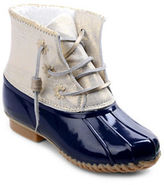 Jack Rogers Chloe Fleece-Lined Leather Duck Boots