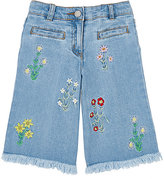 Stella McCartney Floral Crop Jeans