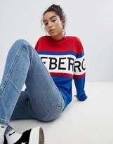 Iceberg Oversized Logo Sweatshirt