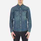 Levi's Men's Barstow Western Shirt Sandy Tint Mid