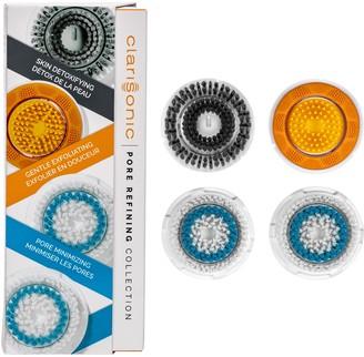 clarisonic Skincare - Pore-Minimizing, Cleansing + Exfoliating Brush Head Set