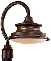 The Great outdoors by Minka Lavery Vanira Place 1-Light Windsor Rust Outdoor Post Mount