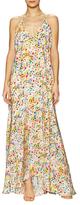 Yumi Kim Sashe Braided Silk Halter Maxi Dress