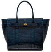 Mulberry Bayswater Leather Satchel - Blue