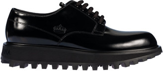 Dolce & Gabbana Rubber Tabs Derby Shoes