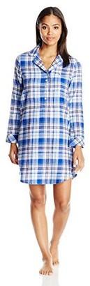 Jockey Women's Flannel Sleepshirt