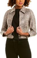 Joie Abraham Leather Jacket