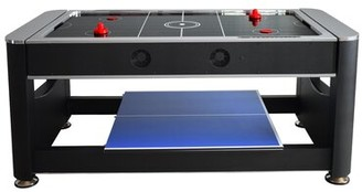 """Triple Threat 3-in-1 72"""" Multi Game Table Hathaway Games"""