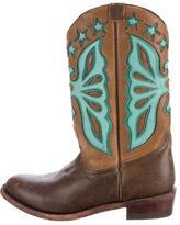 Ashish Leather Cowboy Boots