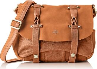 Mila Louise Womens 3277GV Cross-body Bag Brown Brown (CAMEL 18)