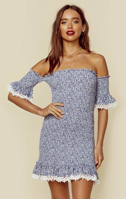 Nightcap Clothing INDIGO FLIRTINI DRESS | Sale