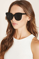 Forever 21 FOREVER 21+ Oversized Square Sunglasses