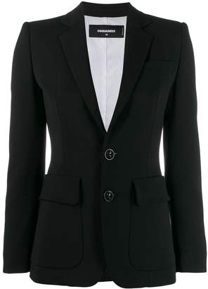 DSQUARED2 classic tailored blazer