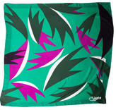 Diane von Furstenberg Printed Multicolor Scarf