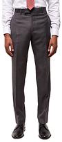 Jaeger Super 120s Wool Regular Fit Suit Trousers, Grey