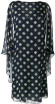 Alberta Ferretti geometric print shift dress - women - Silk/Rayon - 42